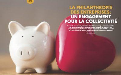 [Rotary Mag] La philanthropie des entreprises : un engagement pour la collectivité