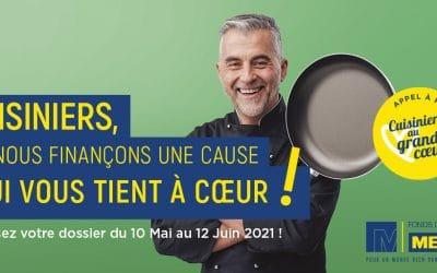 Le Fonds METRO lance un appel vers les cuisiniers qui ont du cœur !